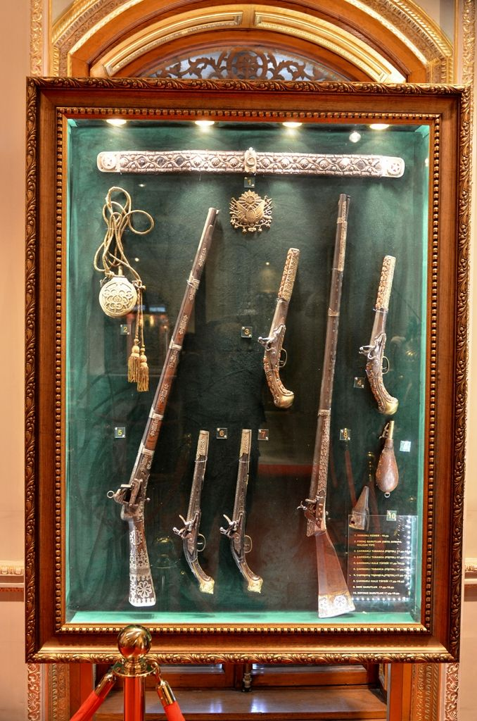 Armor and weapons etc from Yildiz Palace, Turkey  | Armor