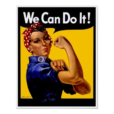 Rosie the Riveter PosterWorld War, Guns, Airplanes, Growing Up, Buildings, Laundry Rooms, Female Marines, Riveter Posters, Role Models