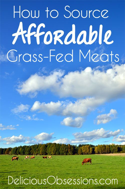 How to Source Affordable Grass-Fed Meat // deliciousobsessions.com