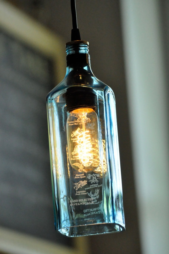 Custom Listing For Joyce Gin Bottle Lights And Bottle