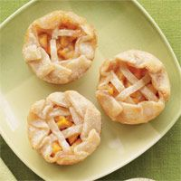 Mini Peach Cobblers *Zippy-Quick recipe-using pre-made pie dough and frozen peaches, for when you have a craving!