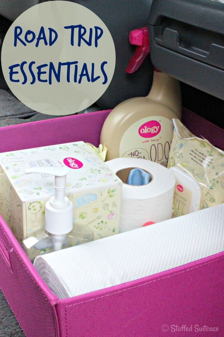 Road Trip Essentials Supply Kit | StuffedSuitcase.com travel tip