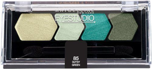 Maybelline New York Silk Eyeshadow Quad Gutsy Green 009 Ounce Pack of 2 -- Find out more about the great product at the image link.