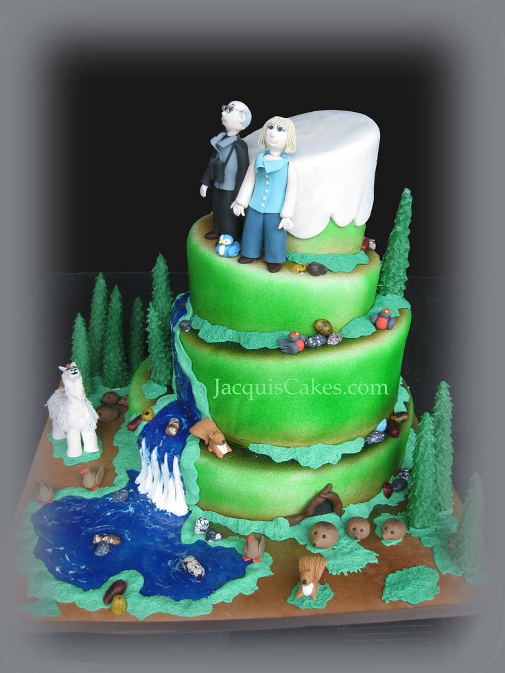 Mountain Hiking Cake Welcome For The Home In 2019