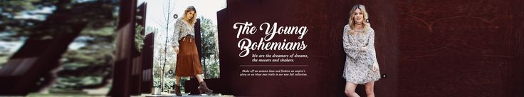 The Young Bohemians @ThreadSence. Shop at threadsence.com