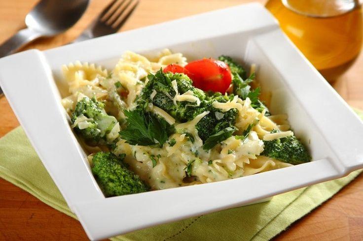 Przepis na Makaron z brokułami i serem