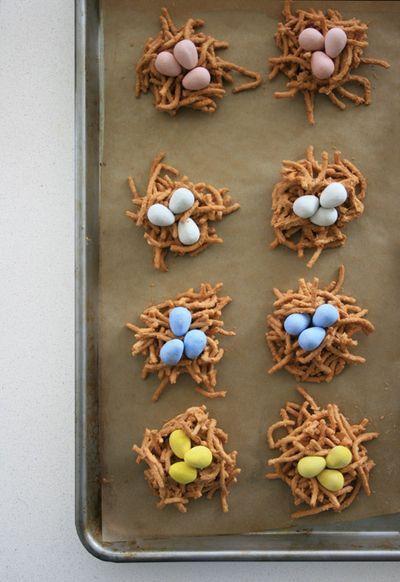 nest egg cookies - cute!
