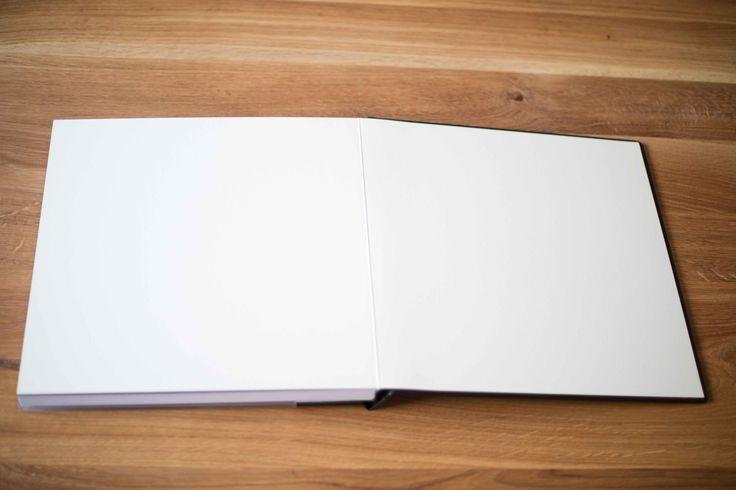 Hochzeitsalbum mit Acrylglascover | Wedding Book with acrylic cover | Fotobuch | abgerundete Ecken | Einband ivory | rounded | by Photogracia Wedding
