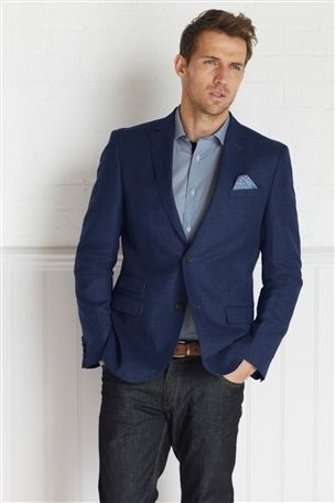 Buy Bright Blue Jacket from the Next UK online shop