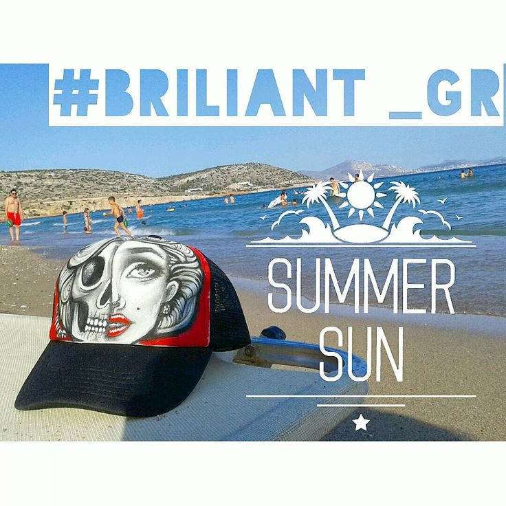 briliant_grSummer sun #greece #2016 #instagreece #briliant_gr #briliantgr #brilianthatproject #hat #artonhat #holyspirit #greece2016 #beachbar