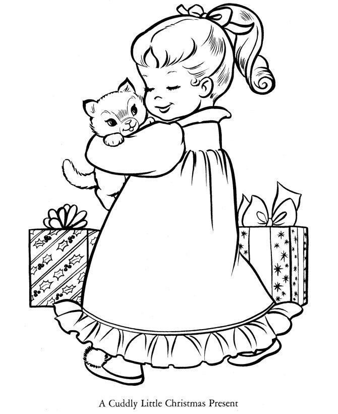 460 best kerststempels images on pinterest   digi stamps, adult ... - Christmas Presents Coloring Pages