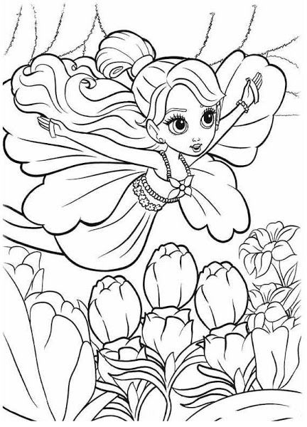 Disney Thumbelina Coloring Pages Coloring Pages For Grown Ups