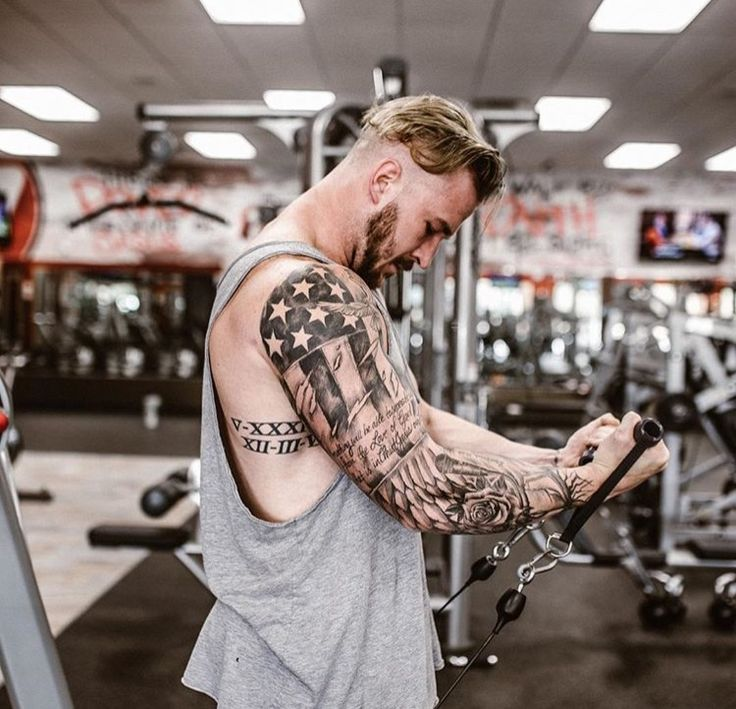American flag tattoo tats tattoos sleeve tattoos