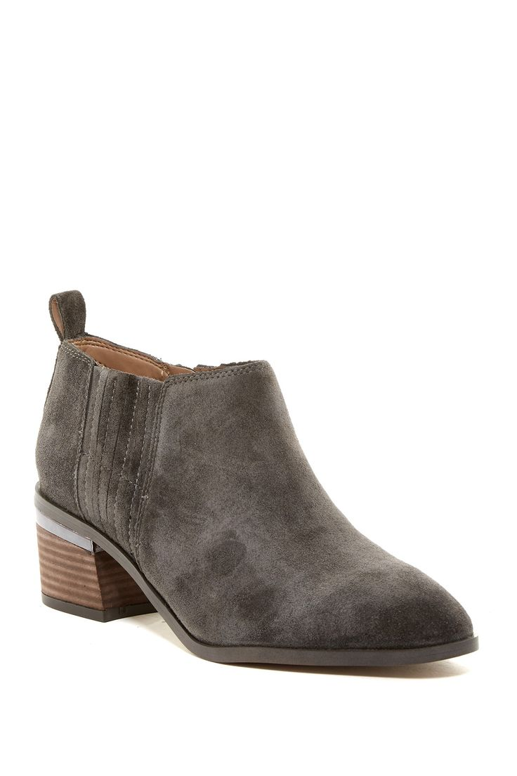 Aberdale Suede Bootie by Franco Sarto on @nordstrom_rack