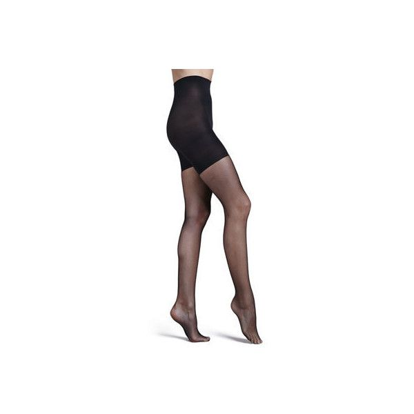 Spanx Uptown Tight-End Tights ($42) ❤ liked on Polyvore featuring intimates, hosiery, tights, black, print stockings, fishnet hosiery, spanx stockings, spanx pantyhose and spanx tights