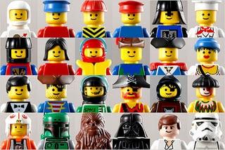 Little Man. Playmobil figures. Star Wars