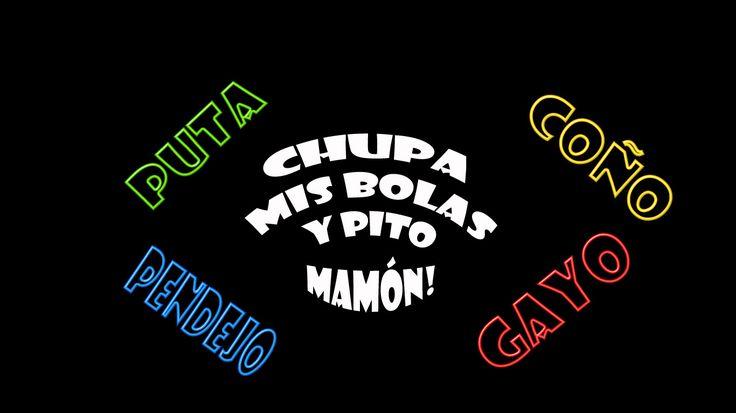 #spanish #swear #words #funny #letsbecops #chupamisbolas