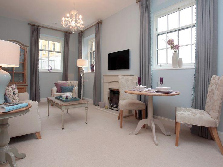 Living Room At Bowes Lyon Court, Poundbury, Dorchester