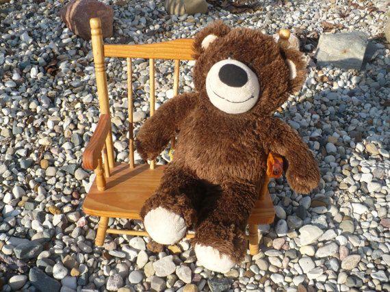 Vintage Wooden Doll Bench Wooden Doll Furniture