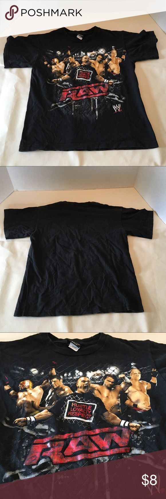 Selling this Boys Hybrid WWE Raw Black T-shirt Medium on Poshmark! My username is: doraannv. #shopmycloset #poshmark #fashion #shopping #style #forsale #Hybrid #Other