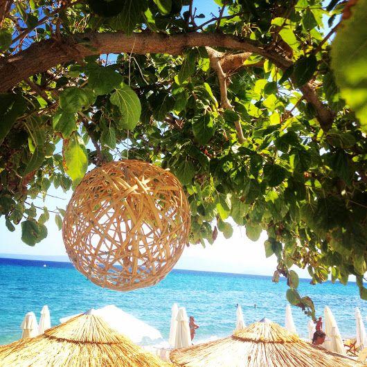 Sun, Sea, Beach at their best! Enjoy.. Cocones Beach Bar Polichrono Chalkidik...