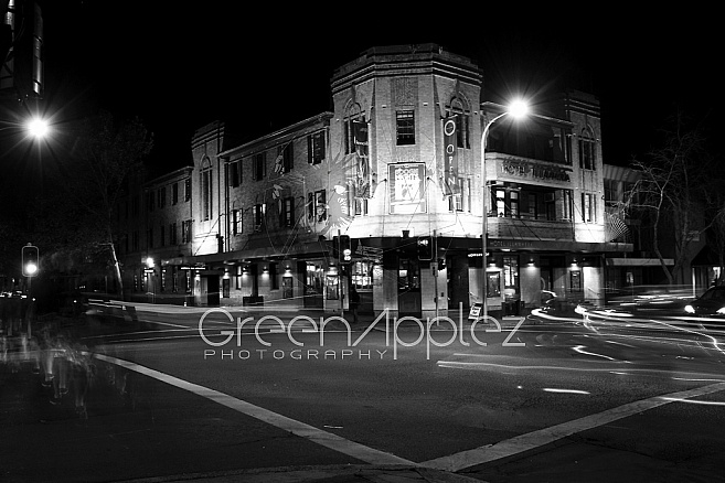 Illawarra Hotel Light Trails - F108 B  Wollongong South Coast