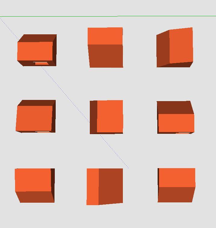 sketch up experimentation / development / object 2