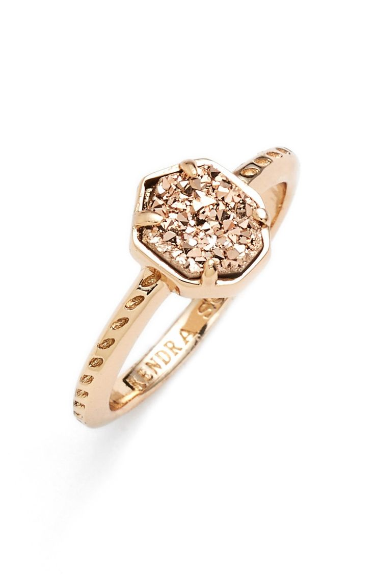 This shimmering rose gold ring is perfect for everyday. @nordstrom
