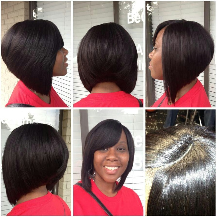 Hair Styles: black hair style bob pictures