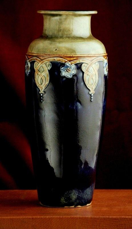 Doulton Lambeth Art Nouveau Vase, c.1910.