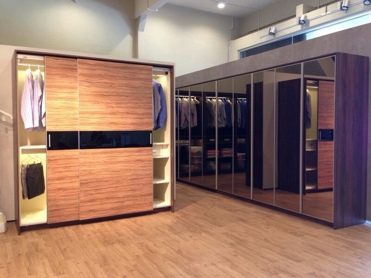 Wardrobe with Sliding Door and Mirror for your sweet home