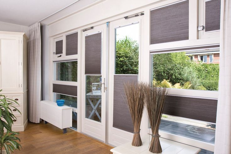 Honeycomb Blinds custom to to fit any size window. Stunning!