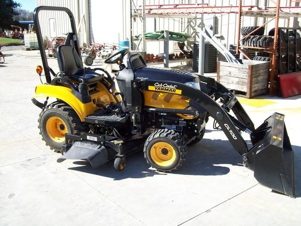 2011 Yanmar SC2400 Compact Tractor 4X4 For Sale