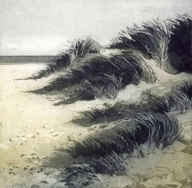 Chrissy Norman, DUNES, 20 x 20 cm