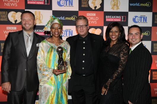 The TWF directors at the 2010 World Travel Awards