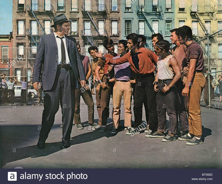 West Side Story West Side Story Année 1961 Usa George Chakiris Stock Photo, Royalty Free Image: 22088485 - Alamy