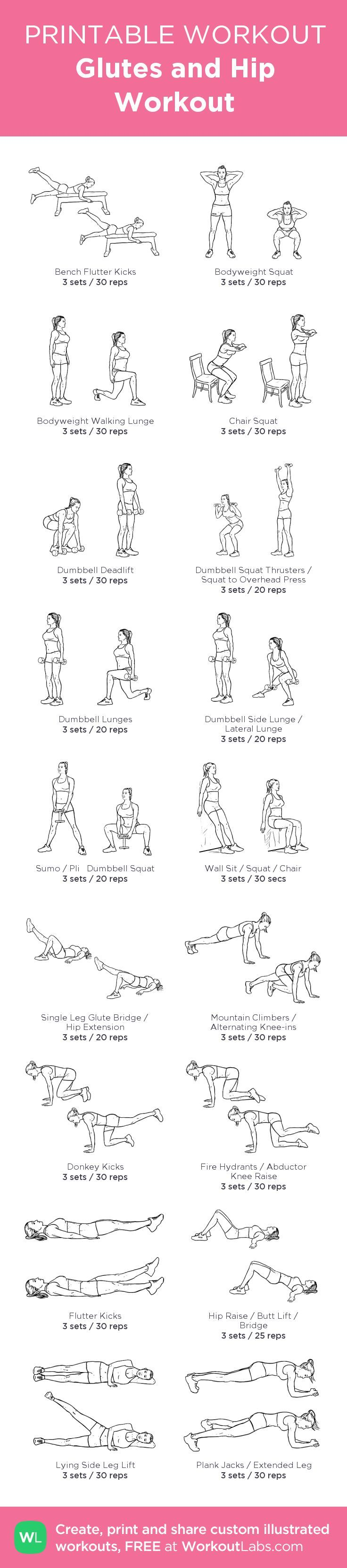 curvy hip exercises - Google Search