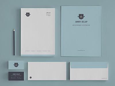 Johnny Delap: Design Inspiration, Personalized Branding, Corporate Images, Branding Sets, Branding Inspiration, Corporate Identity, Letterhead Design, Graphics Design, Jonny Delap