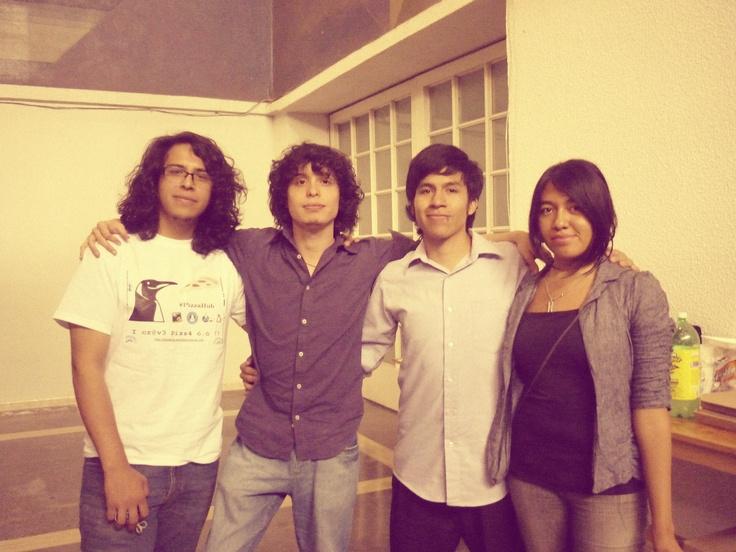 Foto No.1 #PizzaHub 01 (28/04/2012) en Facultad de Ingeniería, UNAM