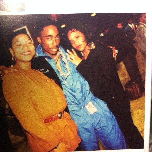Tupac and Queen Latifah