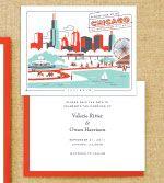 chicago themed wedding invites - Wedding Invitations Chicago