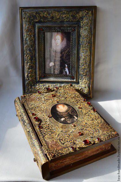 """Шкатулки ручной работы. Ярмарка Мастеров - ручная работа Набор для спальни """"Последняя Тюдор"""". Handmade."""