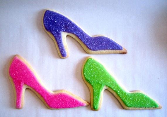 high heel sugar cookies
