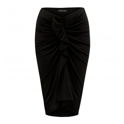 Anna Ruffle Front Body Con Skirt from @forevernew @westfieldnz #backtowork