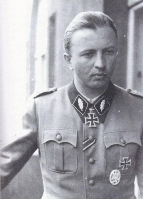 ✠ Hermann Fegelein (30 October 1906 – 28 April 1945) shot for desertion.