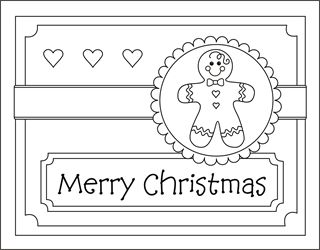 christmas coloring cards for kids printable free coloring cards gingerbread boy christmas coloring pages free squishy cute crafts pinterest