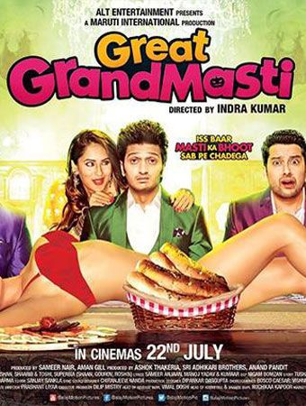 Great Grand Masti (2016) DVDRip | 350MB | Full Down load