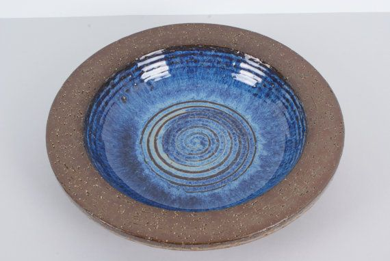 Bowl or plate from Danish pottery Michael by Danishartpottery