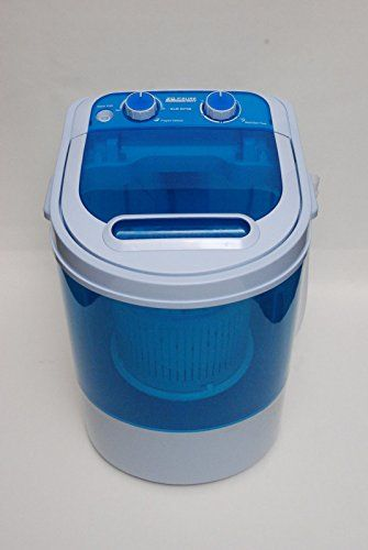 MINI PORTABLE 230V 3KG CAPACITY WASHING MACHINE IDEAL FOR OUTDOOR GARDEN CAMPING WITH SPIN DRYER LEISURE DIRECT http://www.amazon.co.uk/dp/B00UOZOG24/ref=cm_sw_r_pi_dp_xehvvb023PJPF