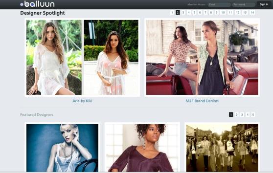 Balluun presents the fashion trade show that neversleeps